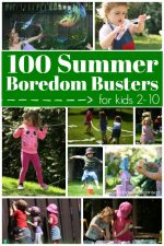 100 Fun Things for Kids to Do at Home This Summer (with Printable Checklist)