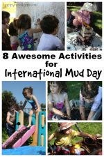 International Mud Day Activities for Preschoolers