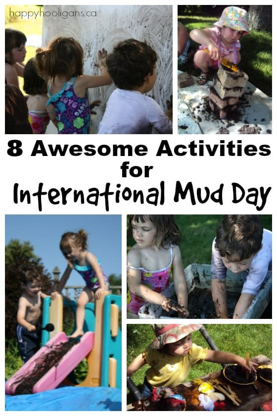 International Mud Day Activities for Preschoolers
