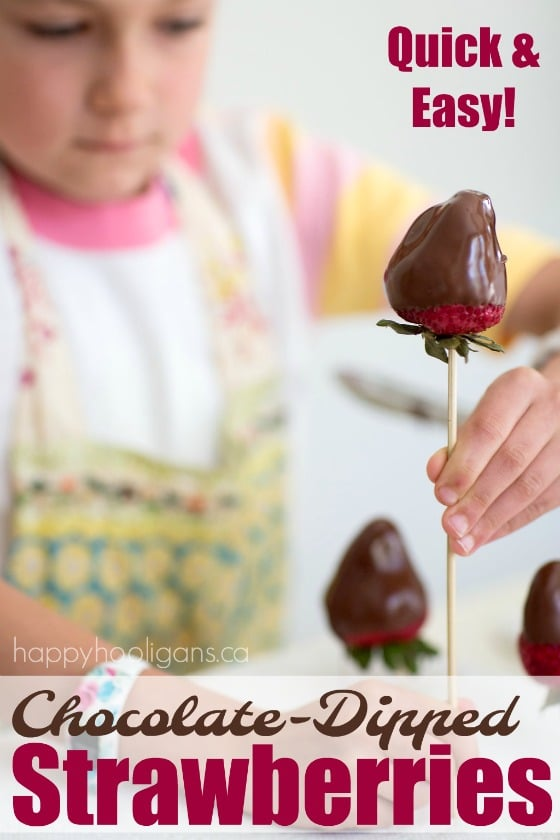 Easy Chocolate-Dipped Strawberries and a Trick to Make Them Perfect Every Time