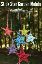 Stick-Star Garden Mobile – Fun & Easy Nature Craft for Kids
