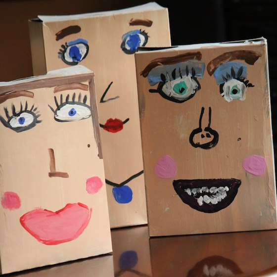 3 ceral box self portraits