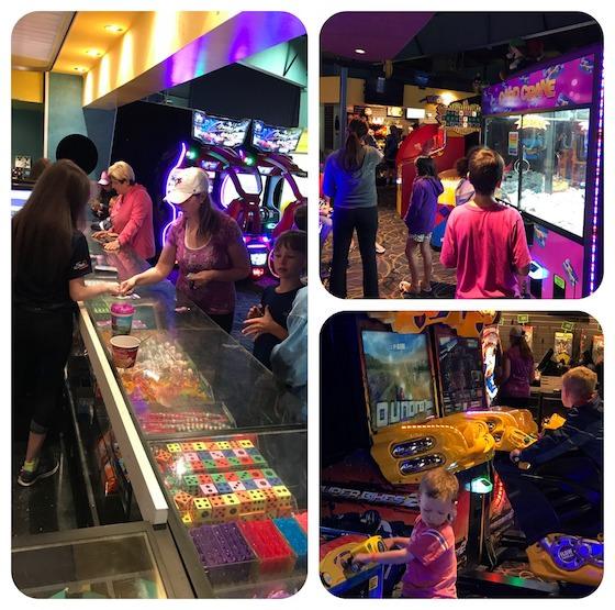 Arcade at Sherkston Shores Beach Resort in Lake Erie