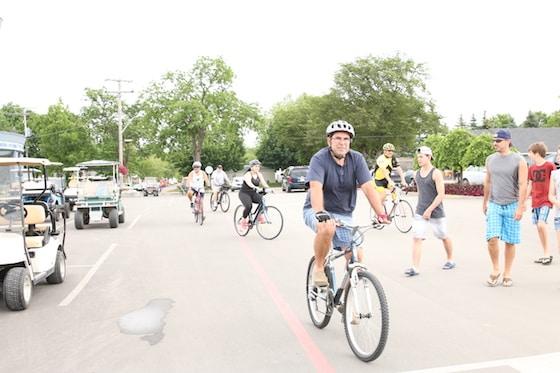 Golf Carts and Bikes at Sherkston Shores