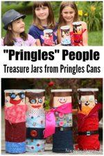 Pringles Can People – Treasure Jars for Kids to Make