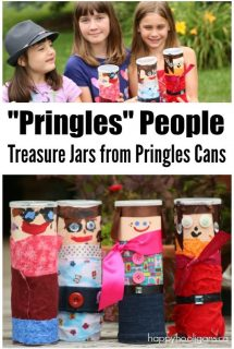 Pringles Can People Craft - Treasure Jar Pringle's Can Craft
