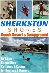 Sherkston Shores Beach Resort and Campground Review - Happy Hooligans