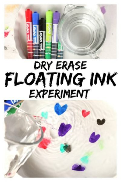 EXPO Dry Erase Floating Ink Experiment - Happy Hooligans