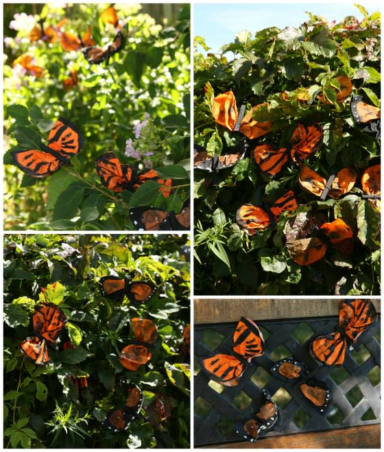 monarch butterflies made by kids