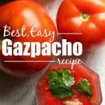 Best Easy Gazpacho Recipe - Happy Hooligans