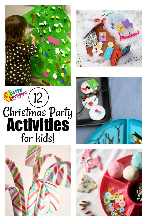 12 Christmas Party Activities for Kids - Happy Hooligans
