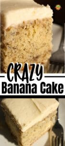 Crazy Banana Cake Recipe 700x1550