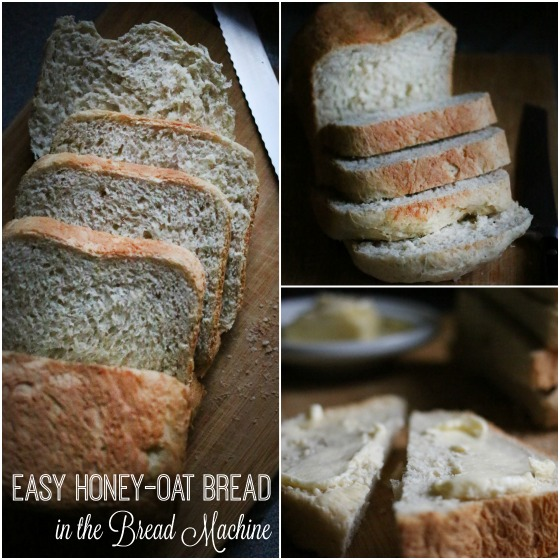 Homemade Bread Collage
