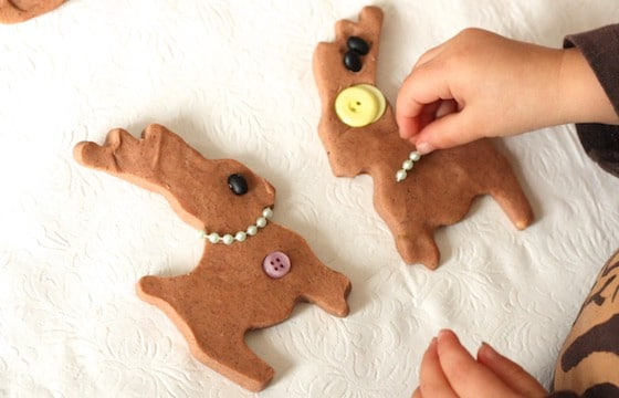 Gingerbread Playdough Activity - Happy Hooligans