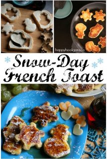 Snow Day French Toast – Fun and Delicious Winter-Themed Lunch for Kids