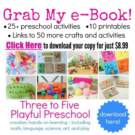 Three to Five Playful Preschool e-book
