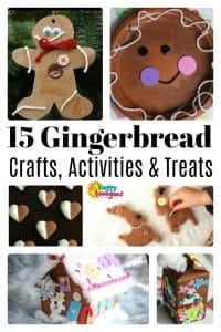 Gingerbread Crafts, Treats and Activities for Kids - Happy Hooligans
