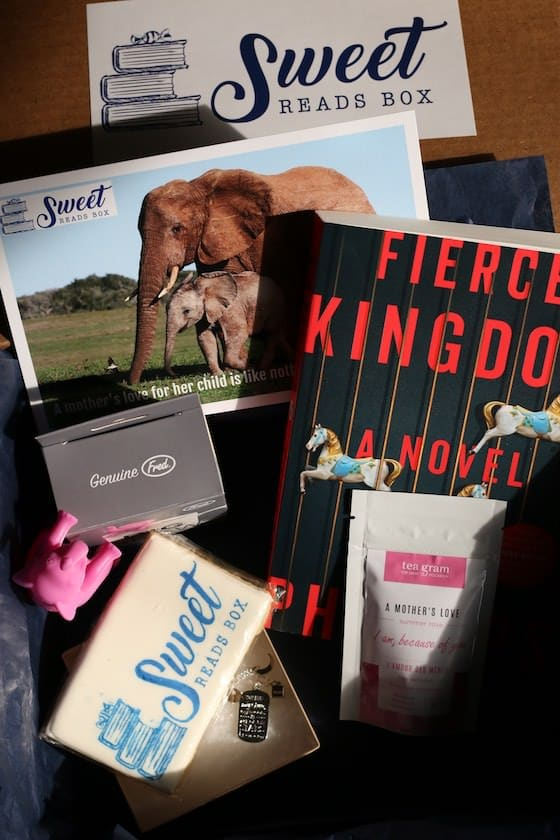 Contents of Sweet Reads Subscription Box
