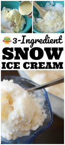 Snow Ice Cream Recipe AKA Snow Cream Recipe