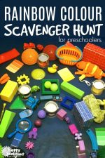 Colour Scavenger Hunt for Toddlers and Preschoolers