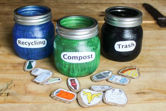 Compost Recycle Sorting Activity