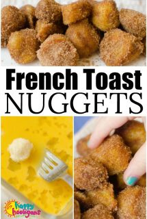 French Toast Nuggets - Kid-Friendly Lunch - Happy Hooligans