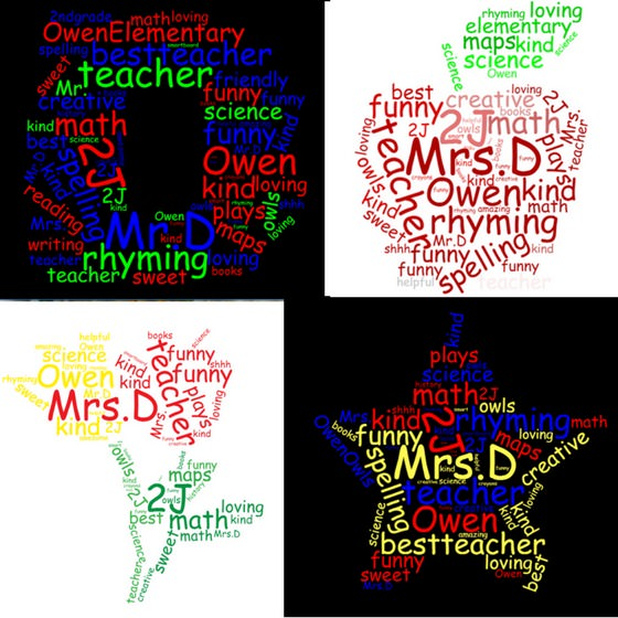 Teacher Appreciation Word Cloud - Happy Hooligans