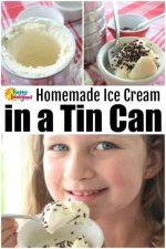 Coffee Can Ice Cream – How to Make Homemade Ice Cream In a Tin Can