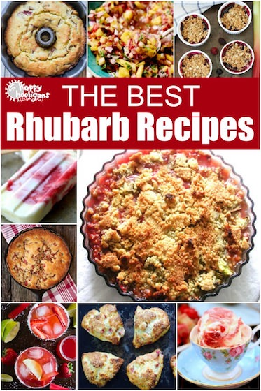 22 Best Rhubarb Recipes for Summer