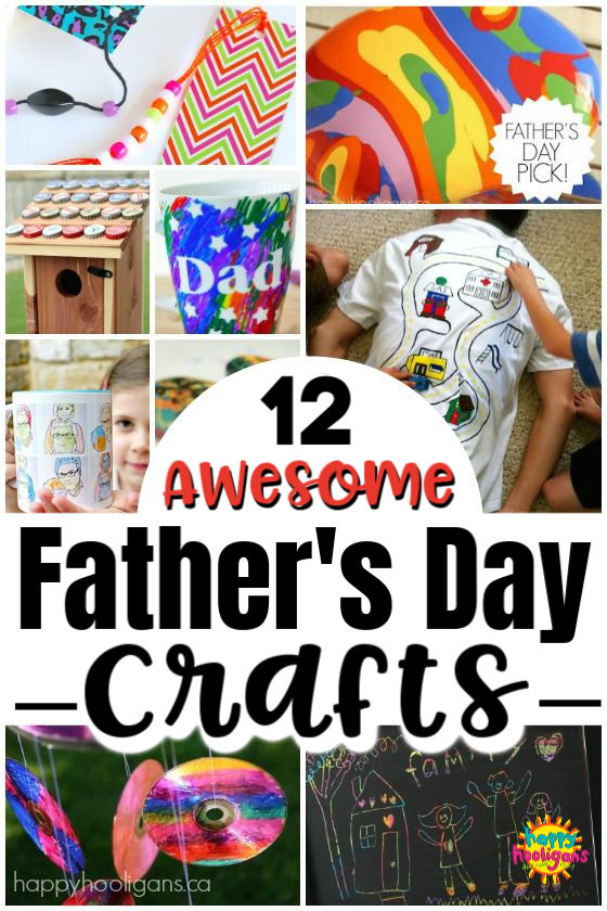 12 Homemade Father S Day Gifts That Kids Can Make Happy Hooligans