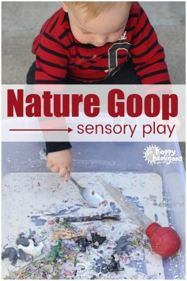 Nature Goop Sensory Play - Happy Hooligans