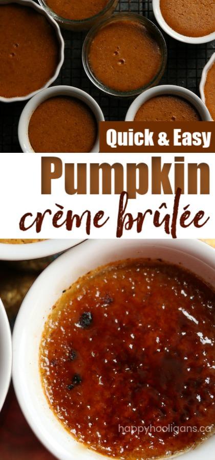Easy Pumpkin Creme Brulee Recipe