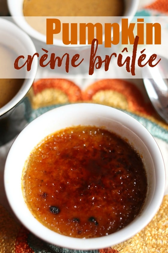 Quick and Easy Pumpkin Creme Brûlée Recipe