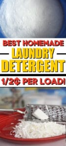 Best Homemade Laundry Detergent