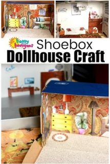 Shoebox Dollhouse Craft for Kids