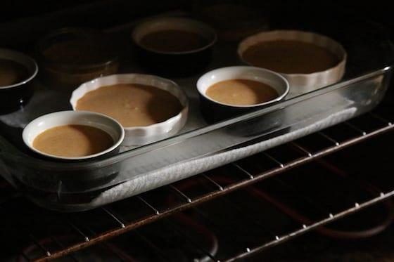 Creme Brûlée in Oven
