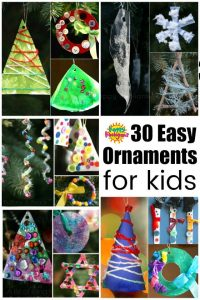 30 Easy Kids' Christmas Ornaments