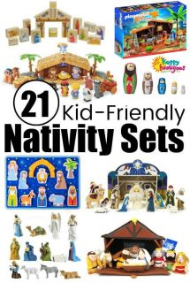 Best Nativity Sets for Kids {They're Made for Play!}