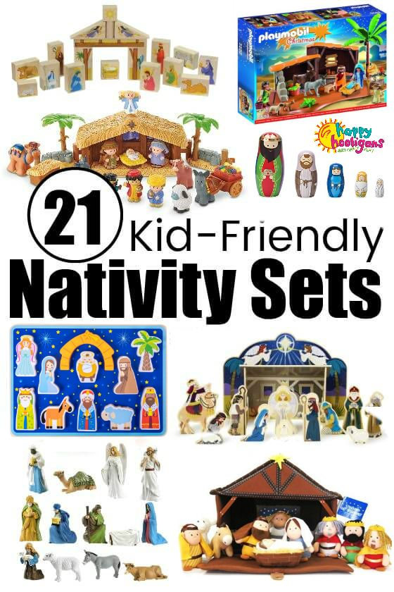 Fun Nativity Sets for Kids