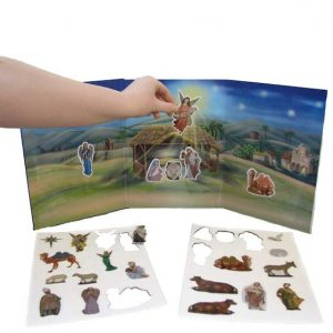 Kurt Adler Magnetic Nativity Set
