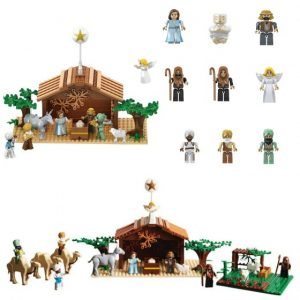 Nativity Bricks Set