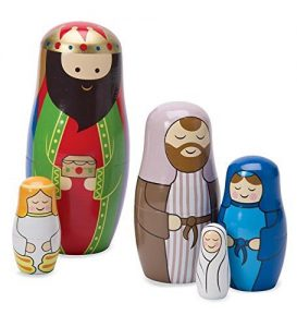 Nativity Nesting Dolls