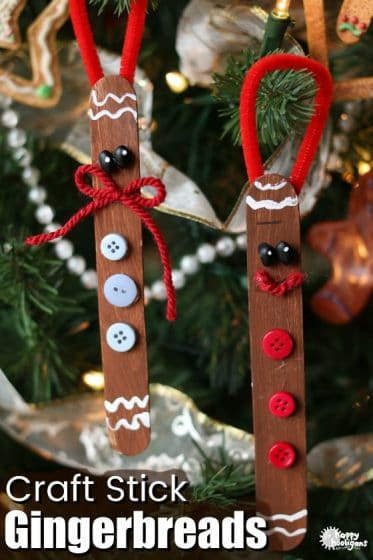 Lollipop Stick Christmas Decorations.16 Popsicle Stick Crafts Your Kids Will Love Happy Hooligans