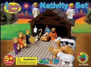 Trinity Toyz Nativity bricks