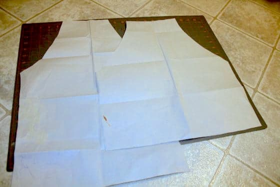 templates for kids aprons