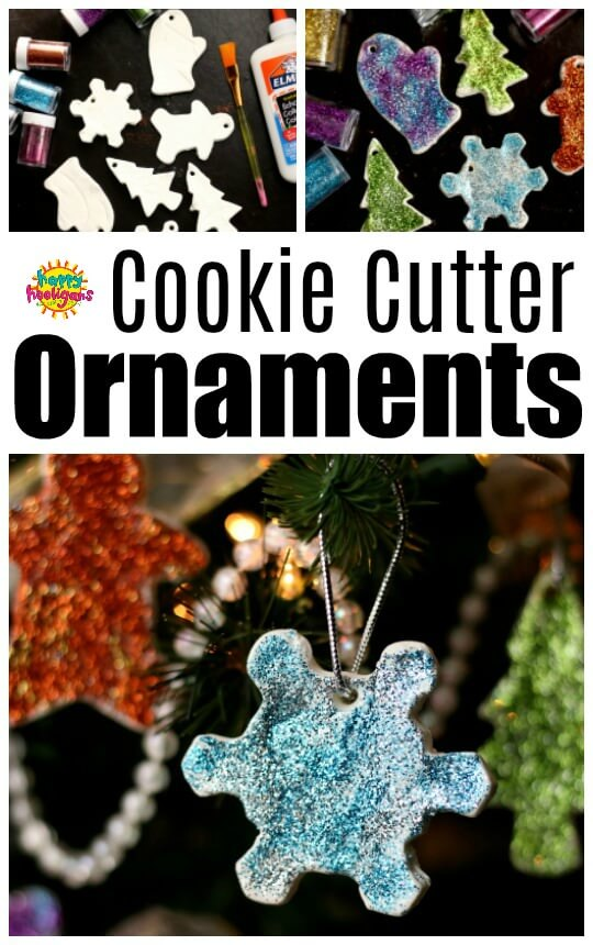 Clay Dough Cookie Cutter Ornament Kids Christmas