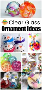 Clear Glass Ornament Ideas