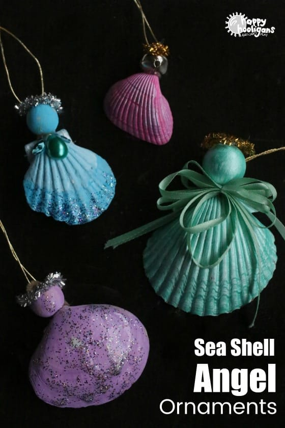 Seashell Angel Ornament for Kids to Make
