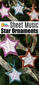 Sheet Music Christmas Stars