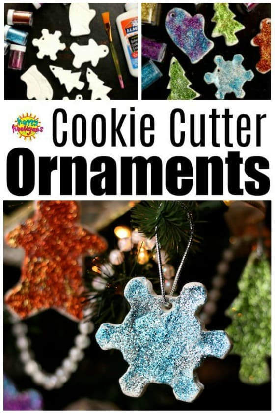 Cookie Cutter Christmas Ornaments for Kids to Make